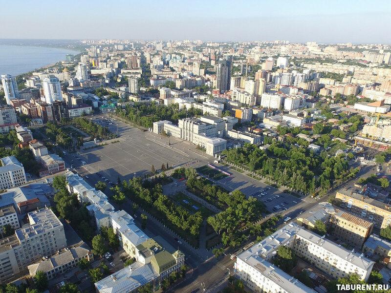 Реконструкция пл.Куйбышева