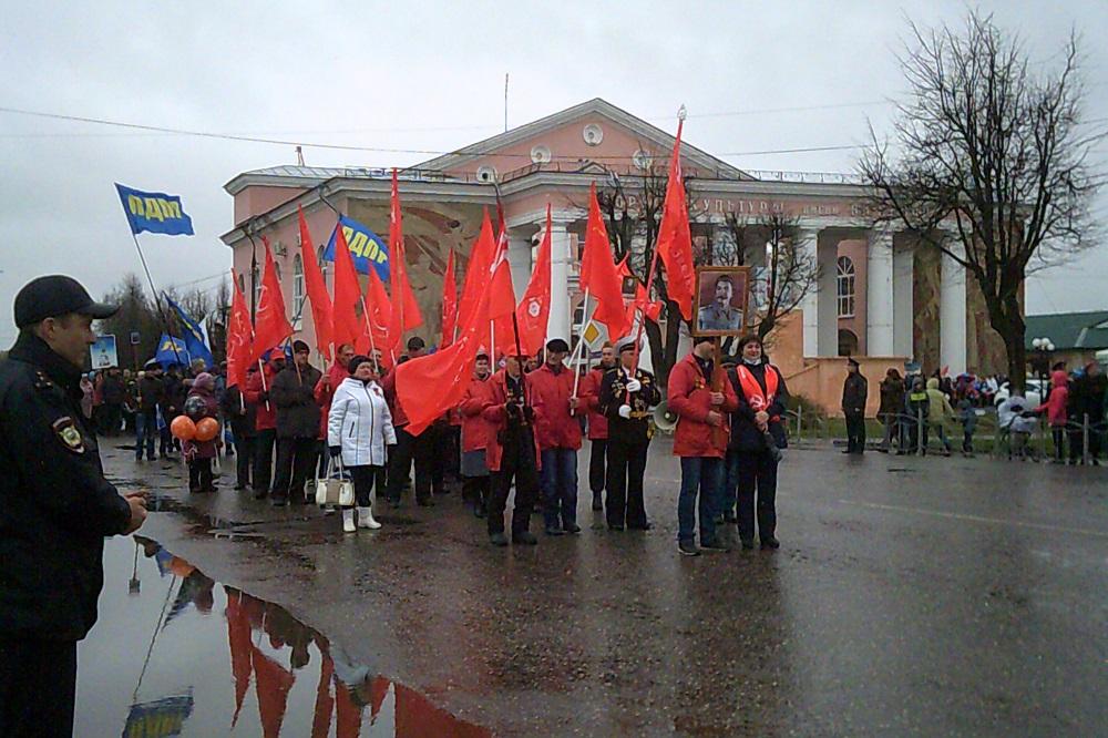 Парад 9 мая Тейково 2017