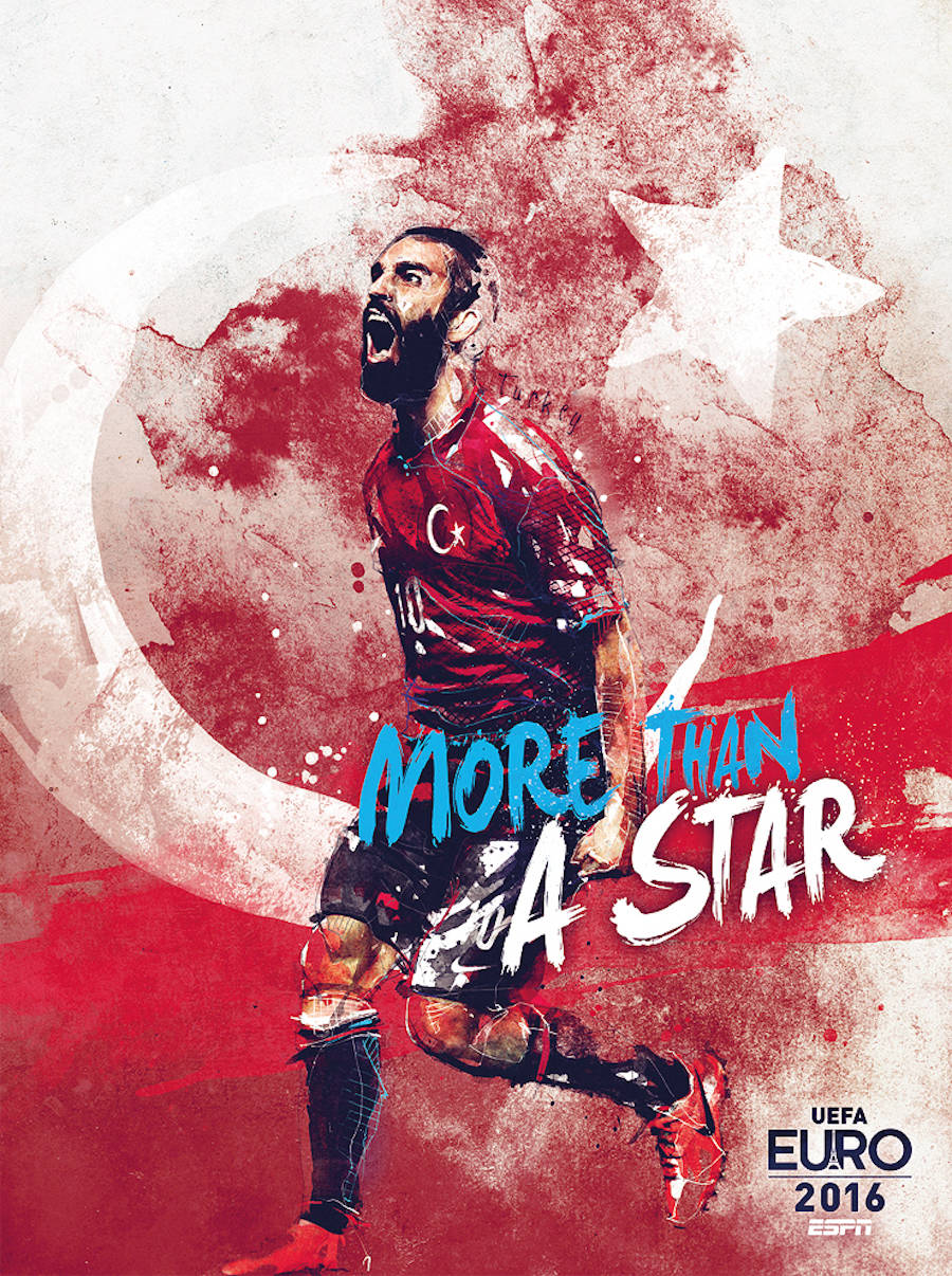 Illustrations of the Euro 2016 Teams