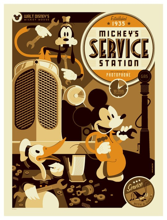 Cool Posters by Tom Whalen