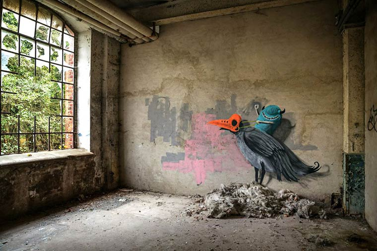 Monzter - Some adorable monsters in abandoned buildings