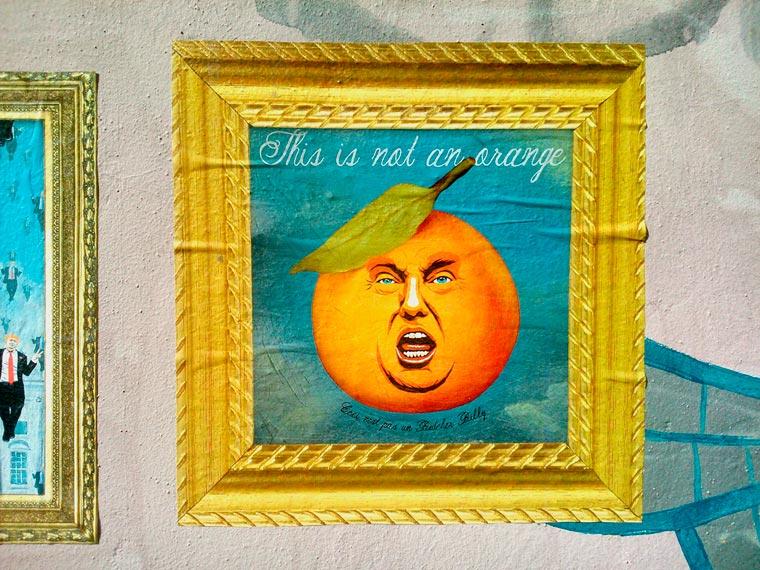 Trump X Magritte - Une nouvelle serie de mashups signee Butcher Billy