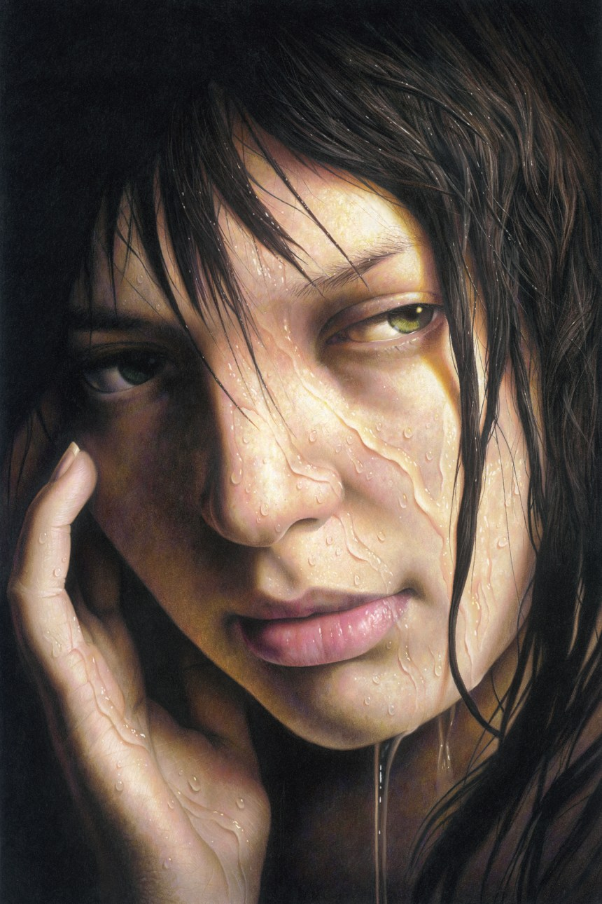 Impressive Hyperrealistic Portrait Drawings