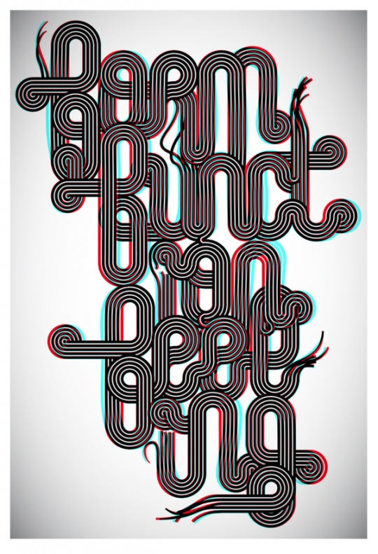Awesome Typography by Jordan Metcalf