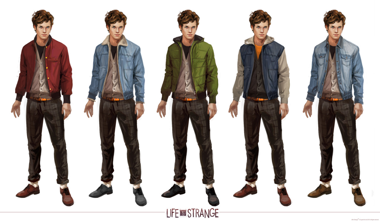 Life Is Strange Concept Art by Fred Augis