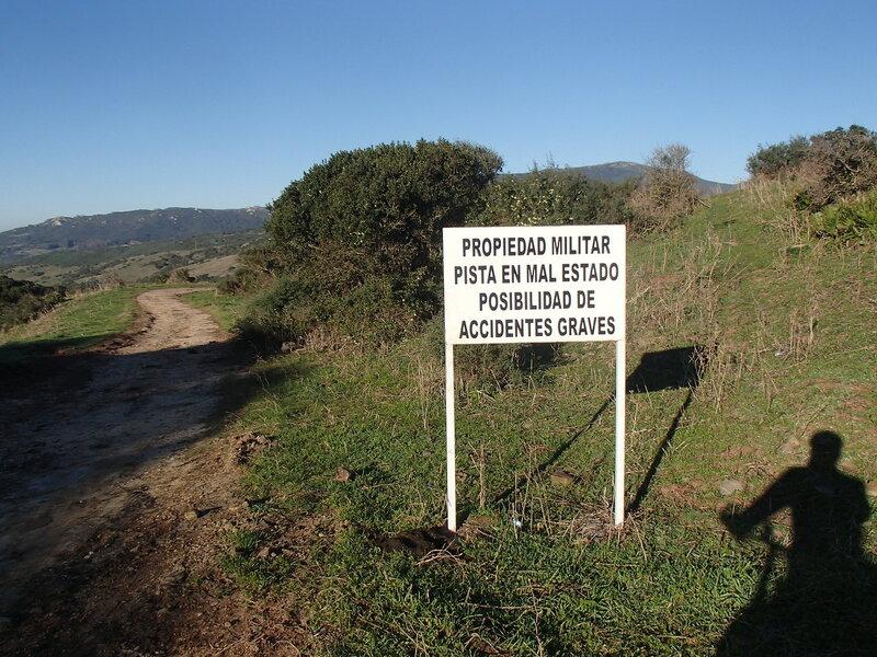 военная территория в парке Эстречо