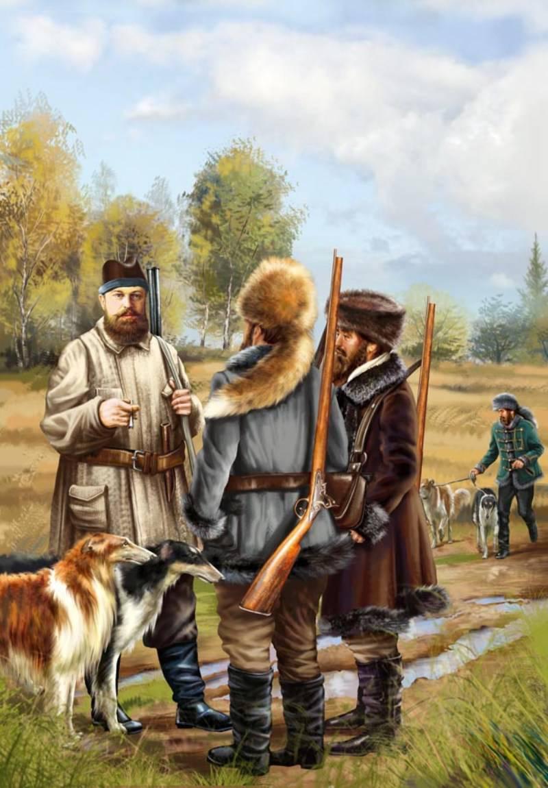 Александр III на охоте.jpg