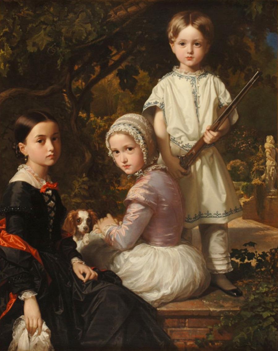 11.Luisa_Rosa y Raimundo de Madrazo Garreta_hijos del pintor.Federico de Madrazo Kuntz.jpg