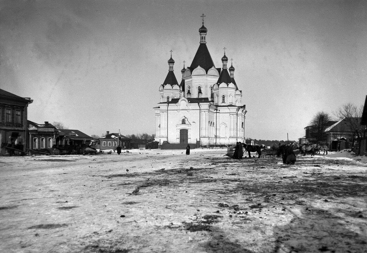 1890-е. Егорьевск. Собор Александра Невского