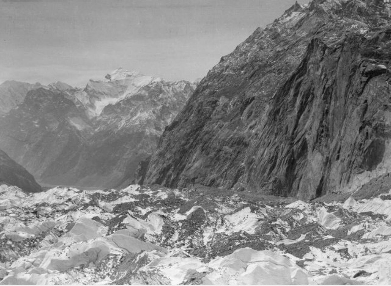 Музартский ледник. Вид с севера