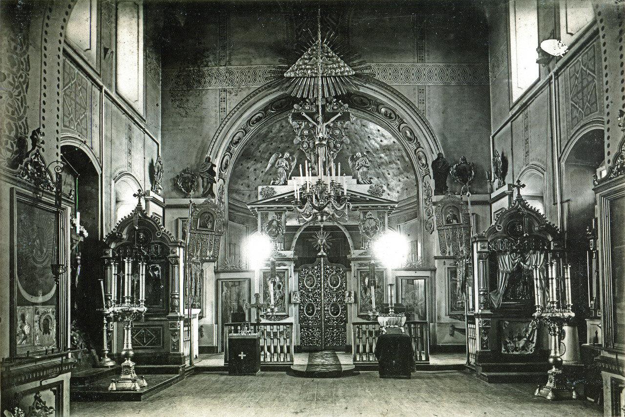 Интерьер Верхне-Никольской церкви