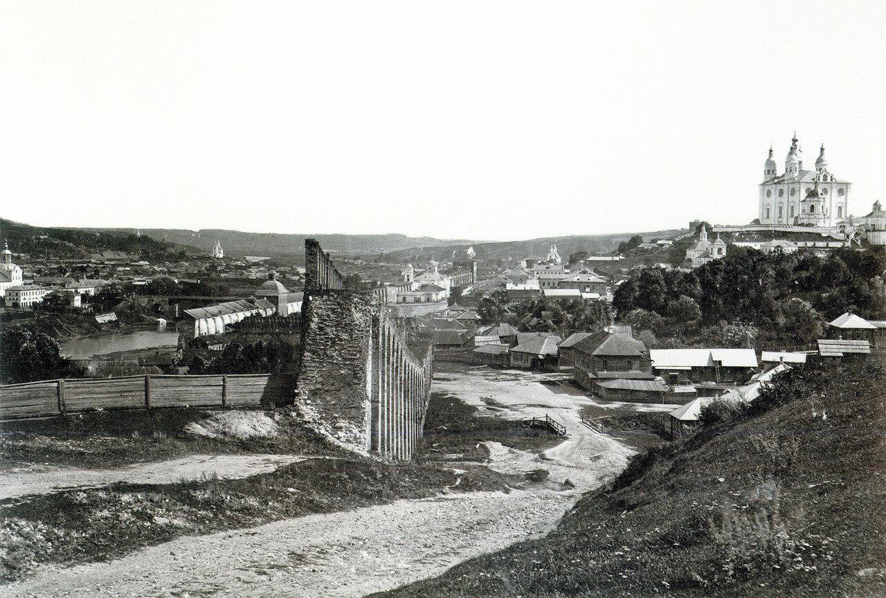 Вид города с Казанской горы. 1885