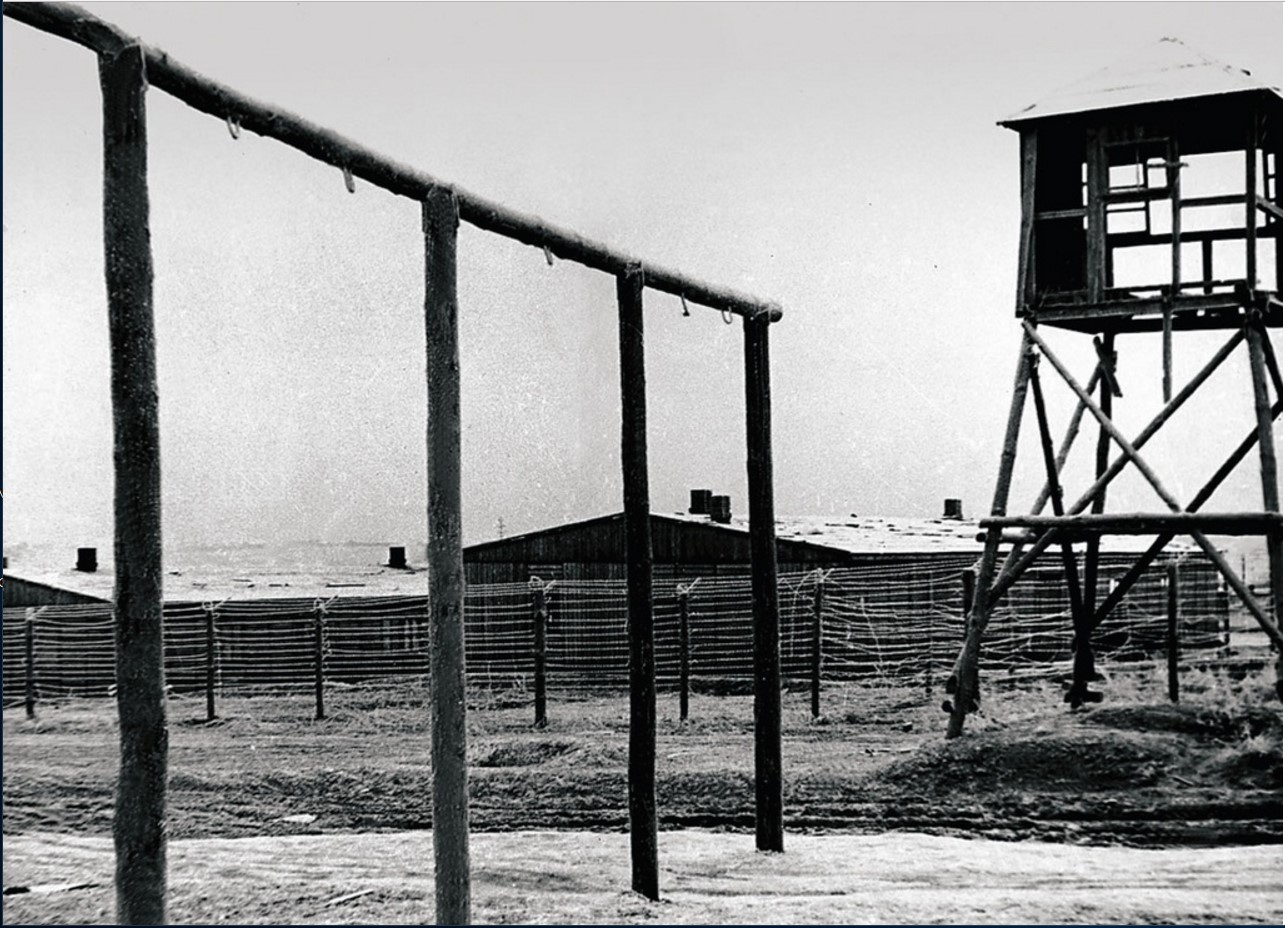 На территории концлагеря. Померания