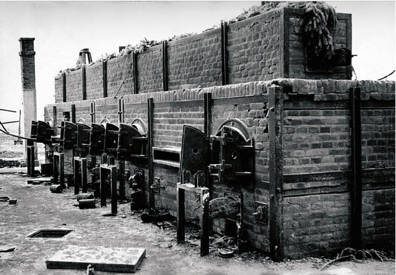 Печи концлагеря, где сжигали трупы узников. Померания