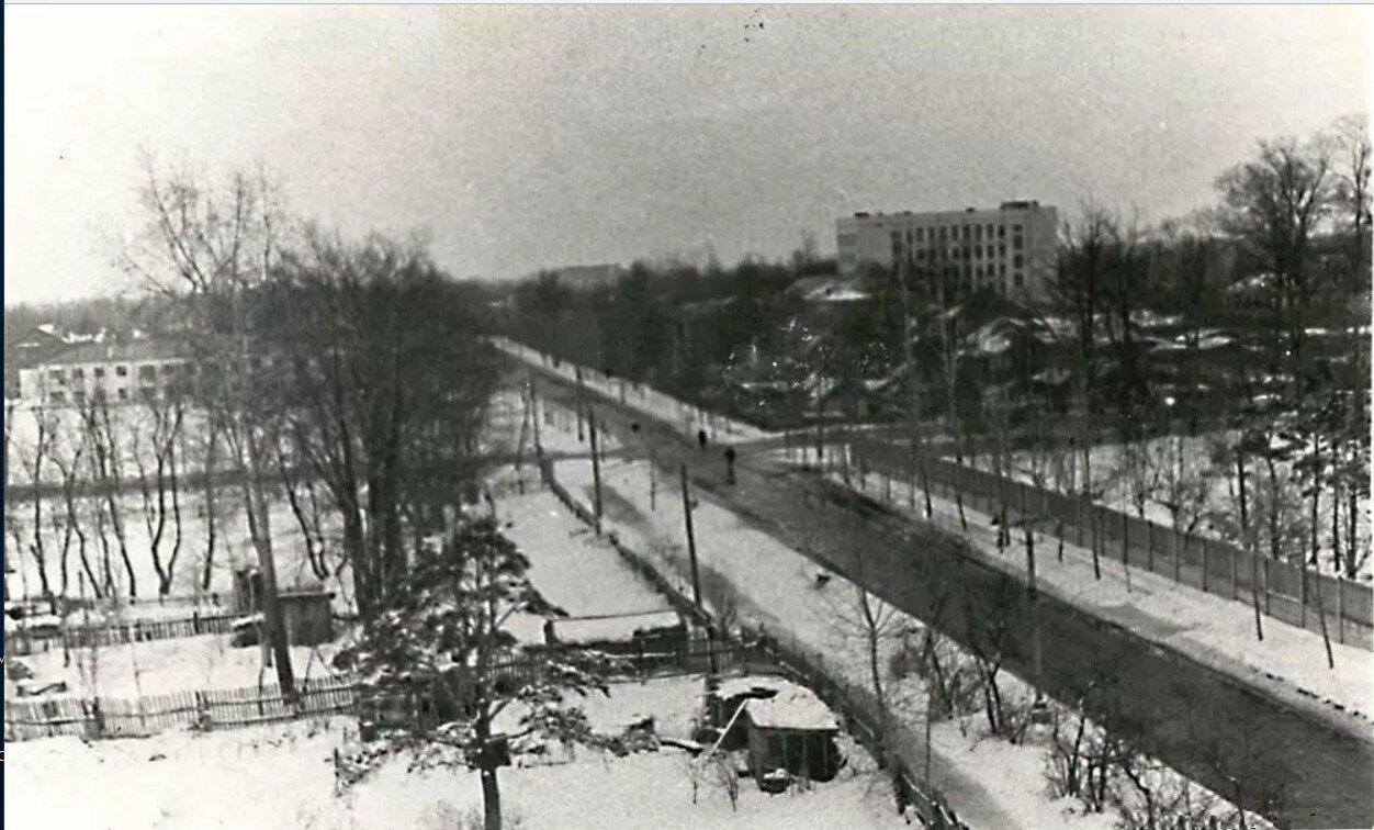 1960. Перекресток Федеративного проспекта и 5-го проспекта