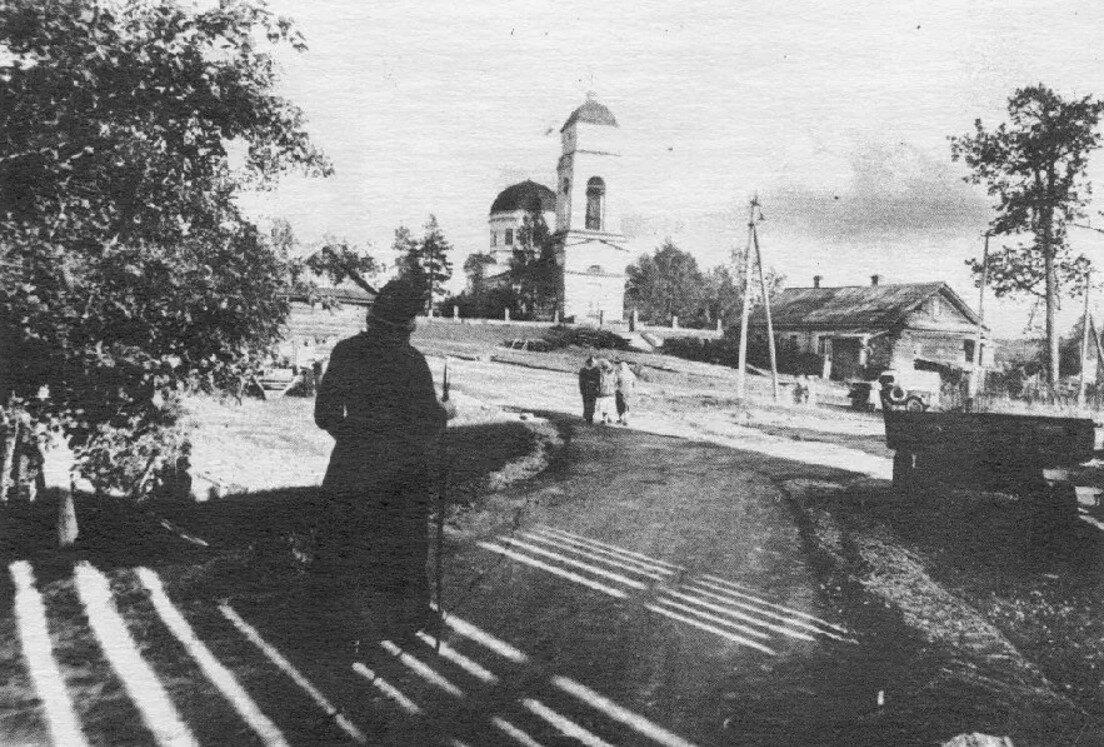 Сомино. Церковь Петра и Павла