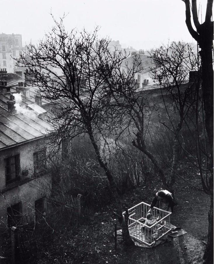 1948. Двор на рю Пиат. Париж