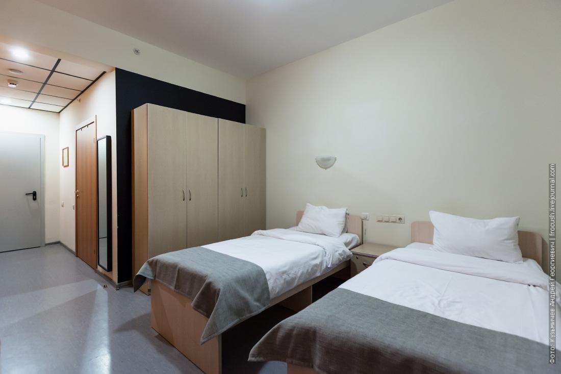 однокомнатный двухместный номер гостиница riders lodge