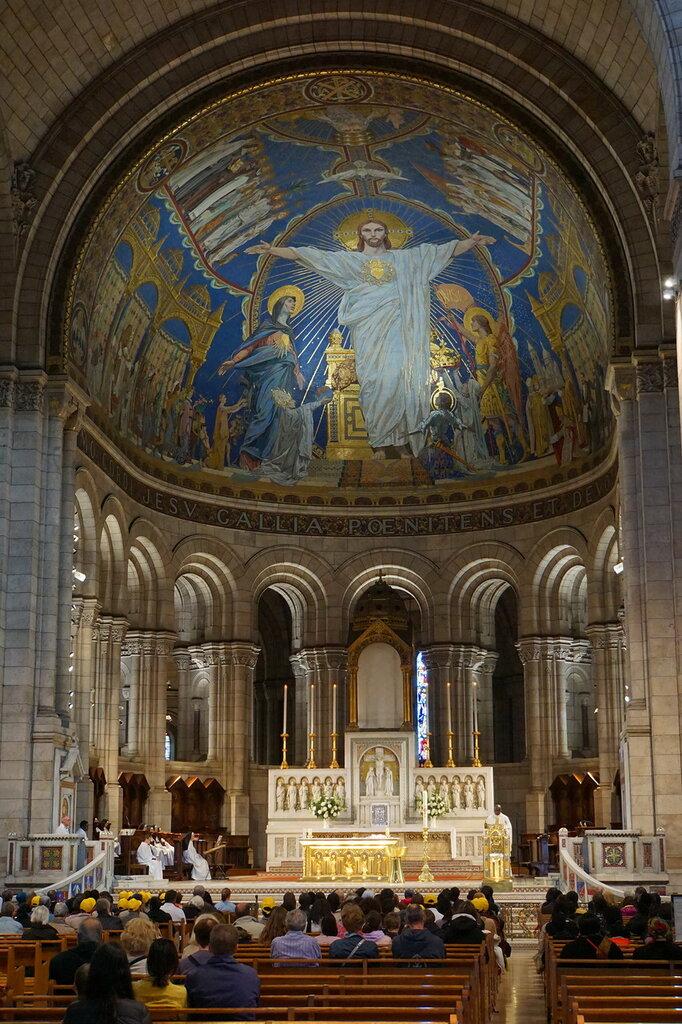 Интерьер базилики Сакре Кёр
