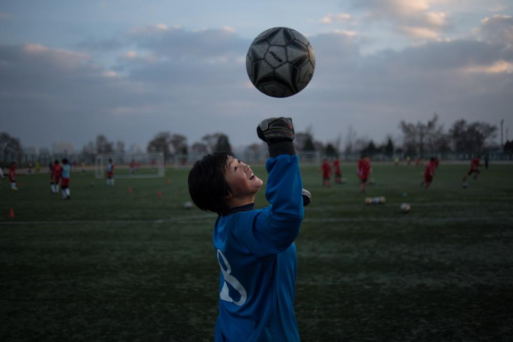 Снимки повседневной жизни в Пхеньяне