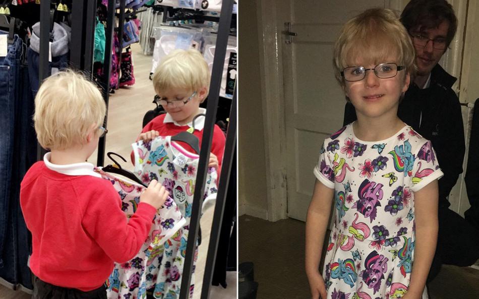 Мальчик пришел в школу в платье My Little Pony