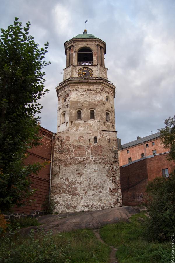 alexbelykh.ru, часовая башня Выборг