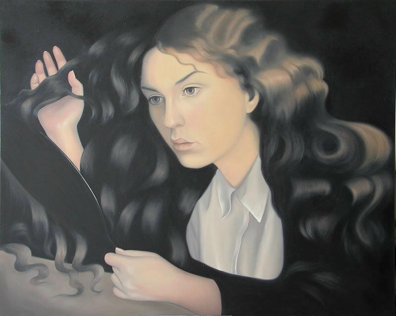 Сегодня  я  совсем,   совсем  другая: С  ладоней  диких  птиц  во  снах  кормлю. Patricia Rorie