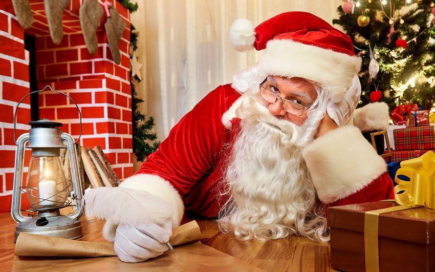 Новый год, дед мороз, санта клаус, картинки