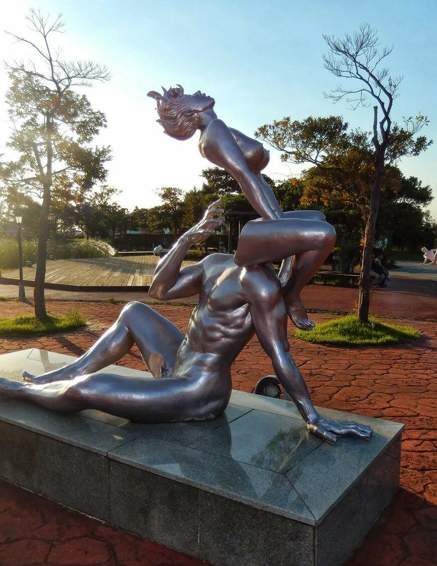 Эротика острова Чеджу - парк Земля любви