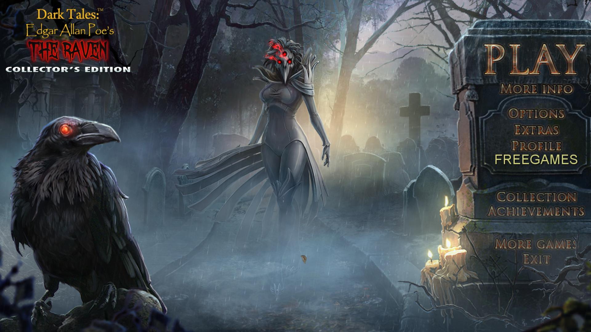Темные Истории 10: Эдгар Аллан По. Вещий ворон. Коллекционное издание | Dark Tales 10: Edgar Allan Poe's The Raven CE (Rus)