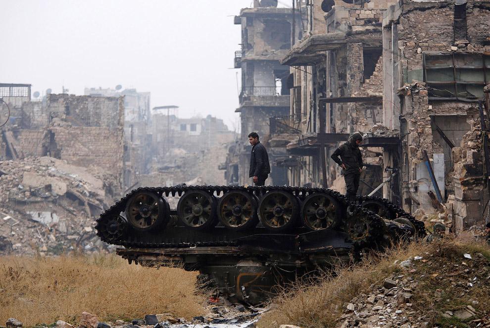 24. Старый город Алеппо, декабрь 2016. По некоторым оценкам, на восстановление сирийской эконом