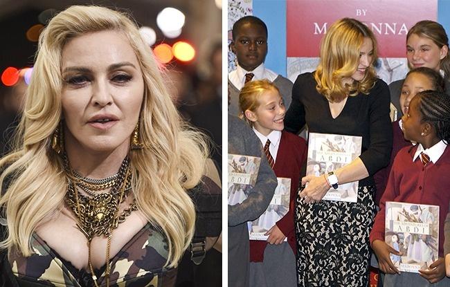 © eastnews  © REX  Многие актеры ипевцы пишут мемуары или кулинарные книги. Мадонна пош