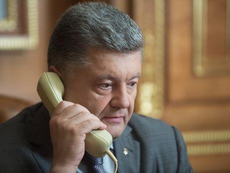 Порошенко иШефчович скоординировали действия безопасности поставок энергоносителей вУкраину иЕС