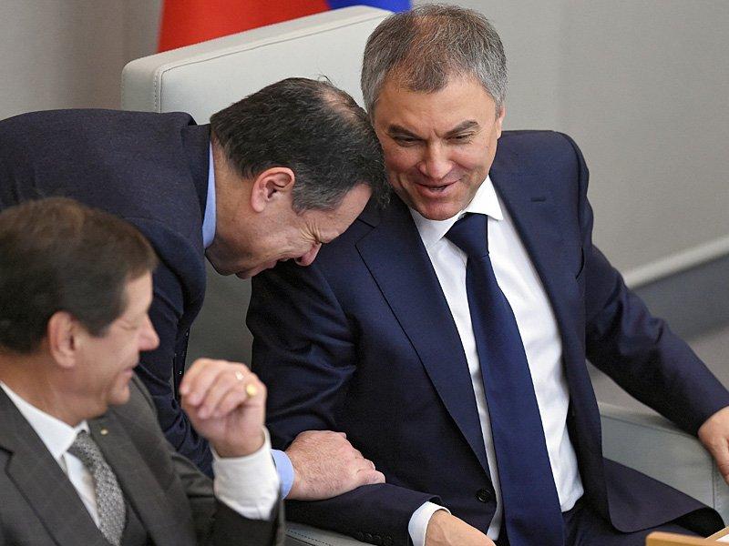 Володин пообещал избранникам устроить вДуме год жесткого контроля дисциплины