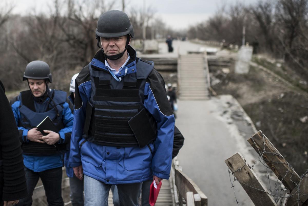 ОБСЕ засутки зафиксировала 2260 нарушений режима предотвращения огня