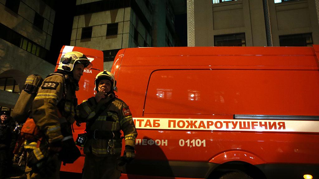 Пожар вквартире насевере столицы забрал жизни двоих человек