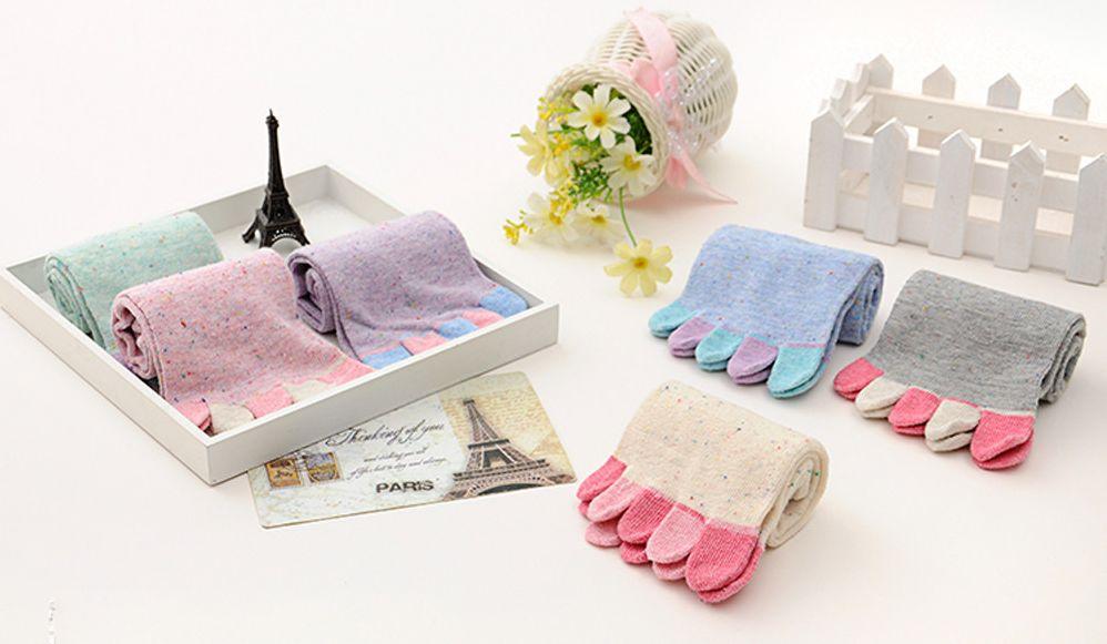 Женские носки с пальцами