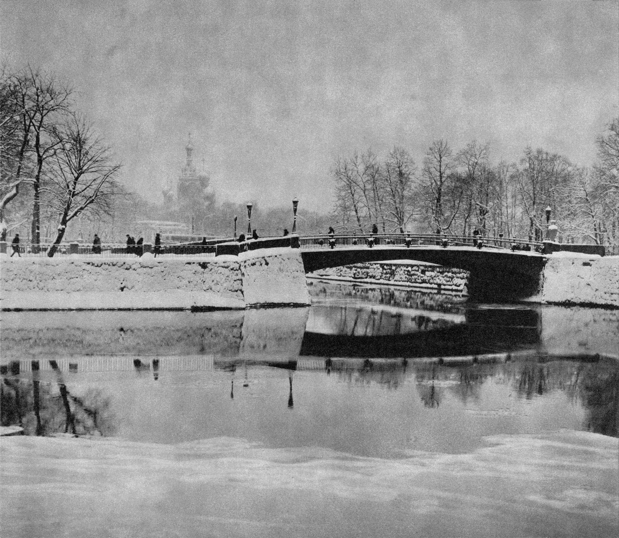 Первый Инженерный мост / First Engineers' Bridge