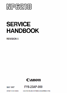 Инструкции (Service Manual, UM, PC) фирмы Canon - Страница 3 0_1b1414_96cf25fd_orig