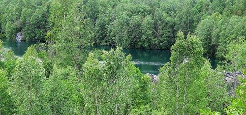 далекое незнакомое озеро