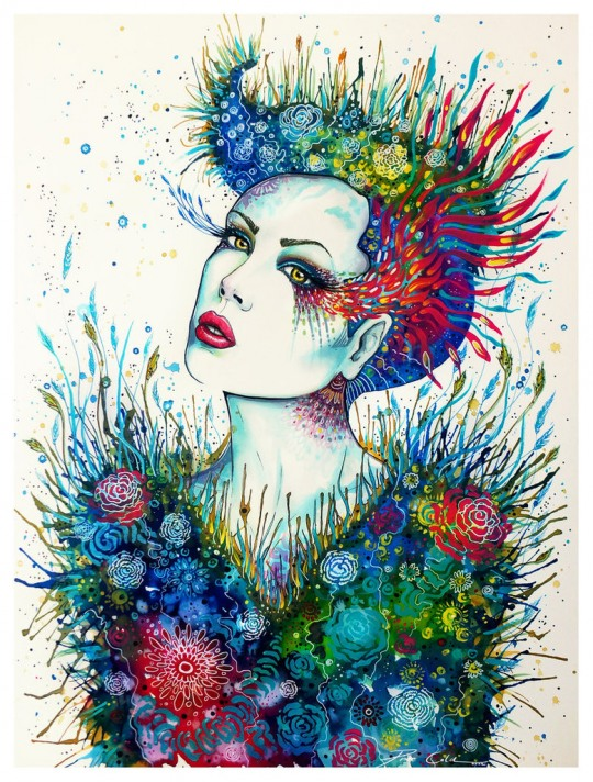 Stunning Illustrations by PixieCold