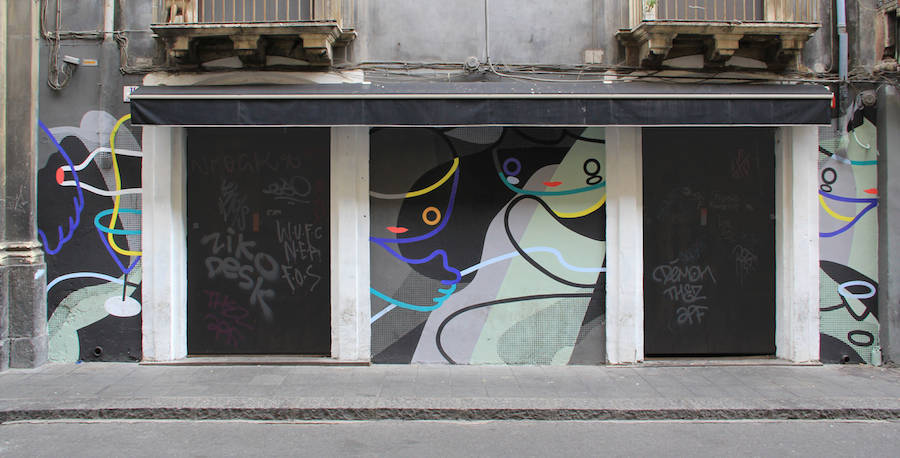 Selection of Beautiful Mural Artworks by GUE