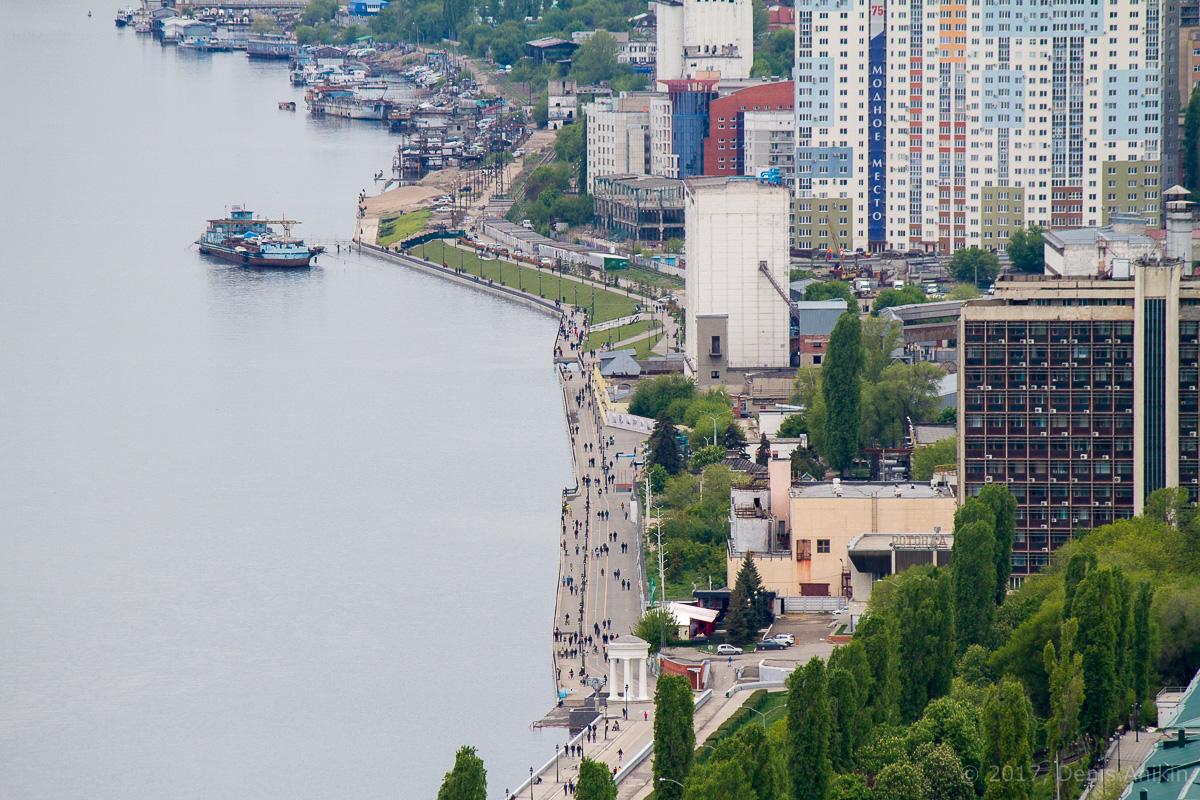 Вид на Саратов с Volga Sky фото 9