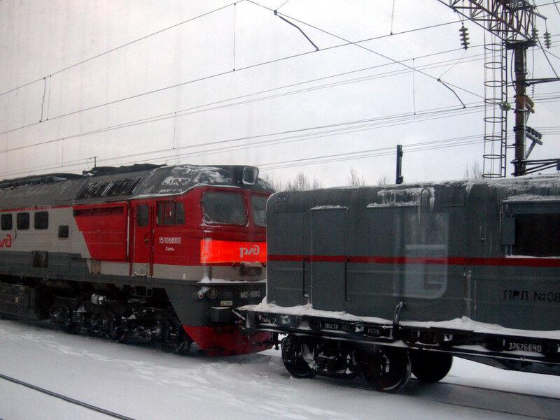 железная дорога, Энгозеро, тепловоз М62