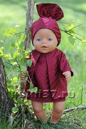 летнее пальто для куклы