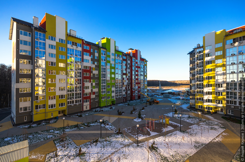 Новый квартал Бабяково
