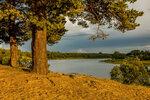 На берегу реки Сясь