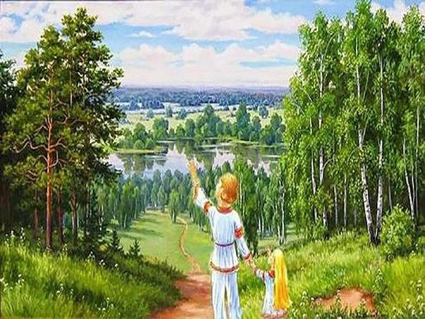Сказание о славянских племенах для малышей