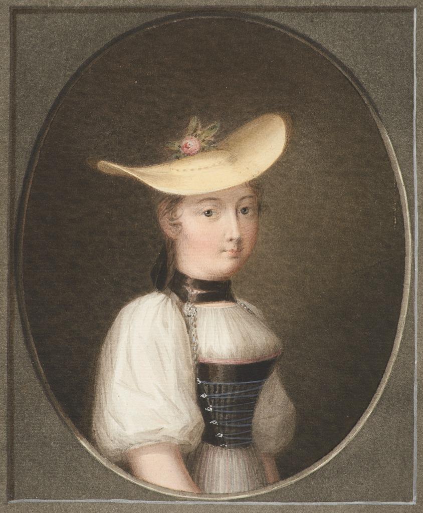 Kaiserin Жозефина в Бернском крестьянском костюме