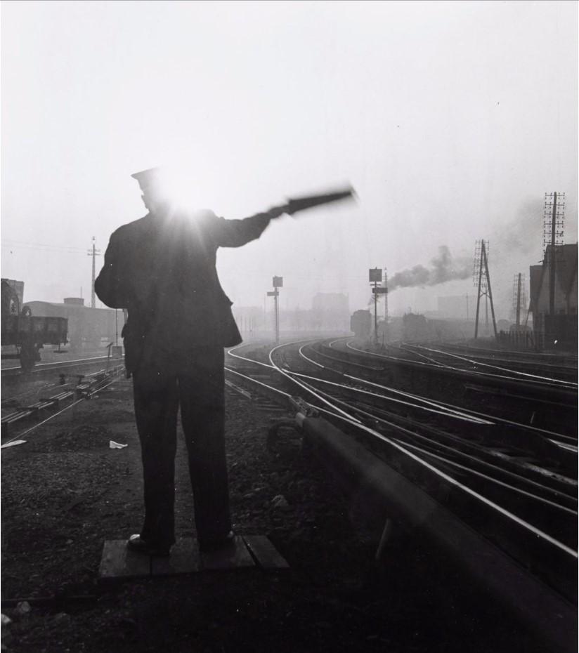 1950. Восточный вокзал